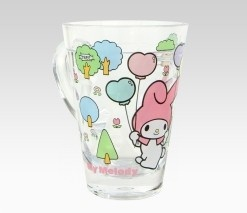 An image of My Melody Plastic Cup: Balloon