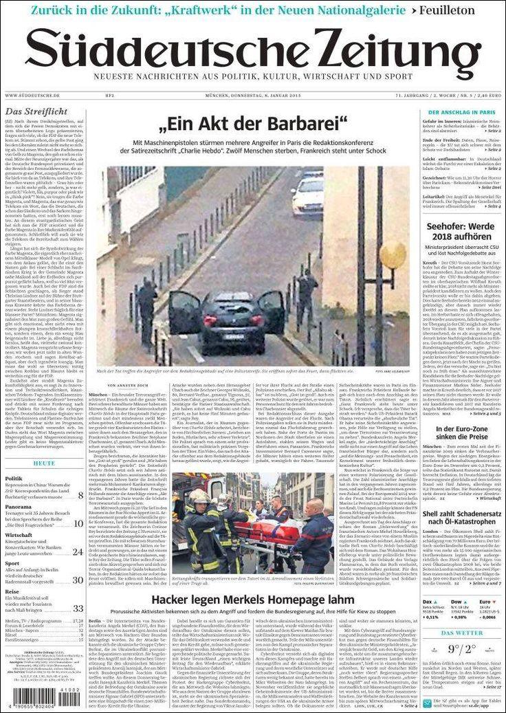 Allemagne - Süddeutsche Zeitung