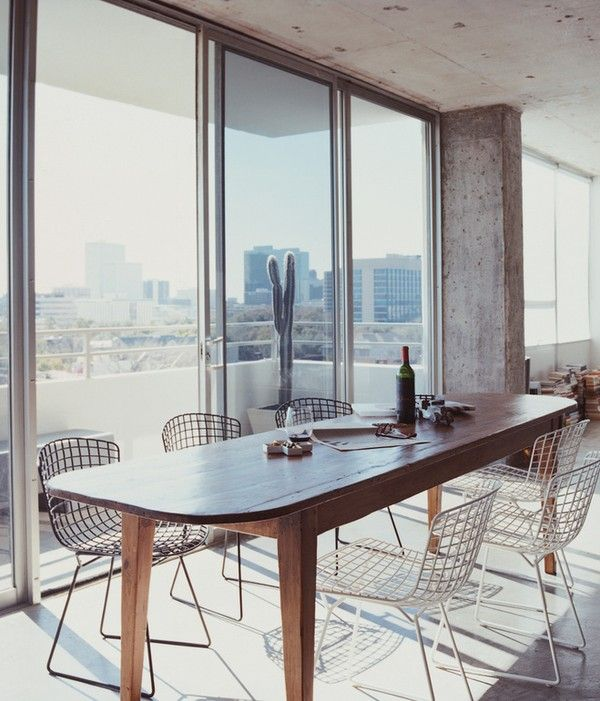 Stripped to the Bone Minimalist 60s Apartment - Emmas Designblogg