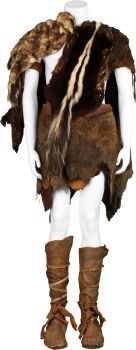 Movie/TV Memorabilia:Costumes, Year One - Jack Black Screen-Featured Caveman Costume....