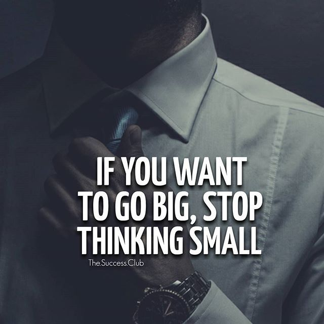 Stop. Think big. ...repinned für Gewinner! - jetzt gratis Erfolgsratgeber sichern www.ratsucher.de