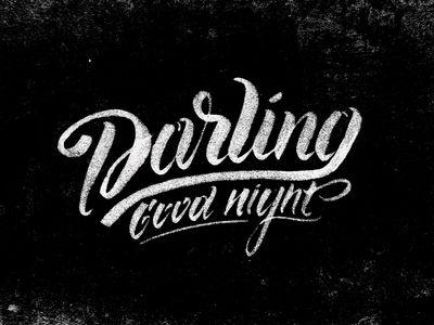 Good Night Darling by Olga Vasik