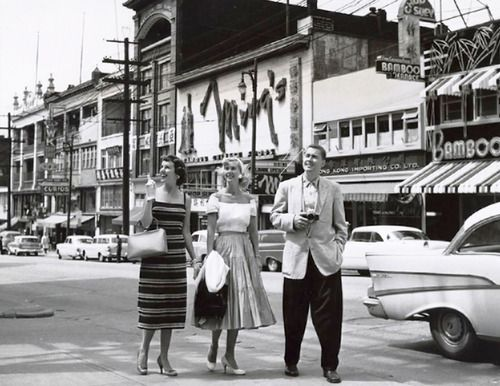 The Vancouver Chinatown. FromToro Magazine, 1959.