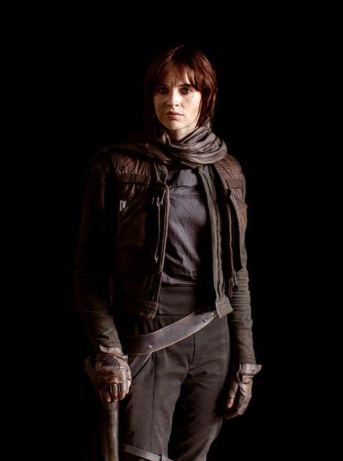 Felicity Jones in Star Wars: Rogue One