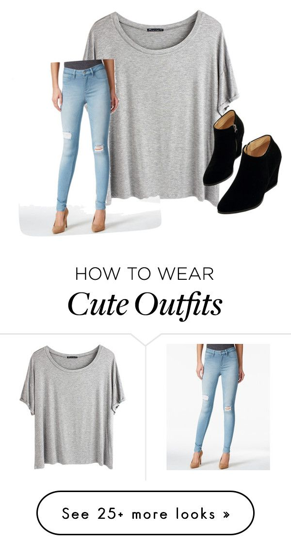 """Causal yet cute outfit"" by allieisaflower on Polyvore featuring Chicnova Fashion, SUEDE, WithChic, women's clothing, women, female, woman, misses and juniors"