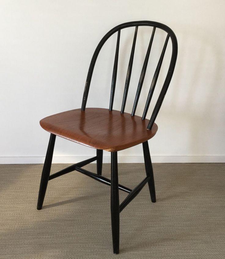 Mid Century 50er 60er Jahre Sprossenstuhl Windsor Stuhl von Nesto (gemarkt) von moebelglueck auf Etsy https://www.etsy.com/de/listing/503665091/mid-century-50er-60er-jahre