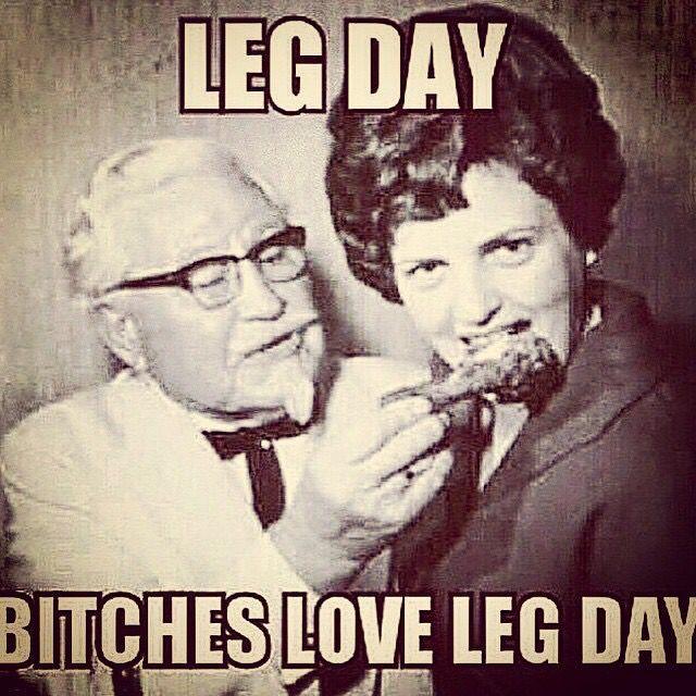 I love leg day!!!