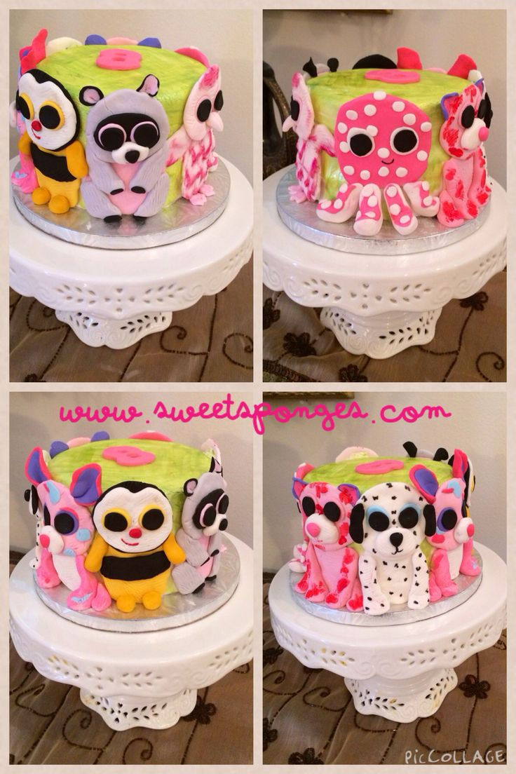20 best Birthday cakes images on Pinterest Beanie boo party