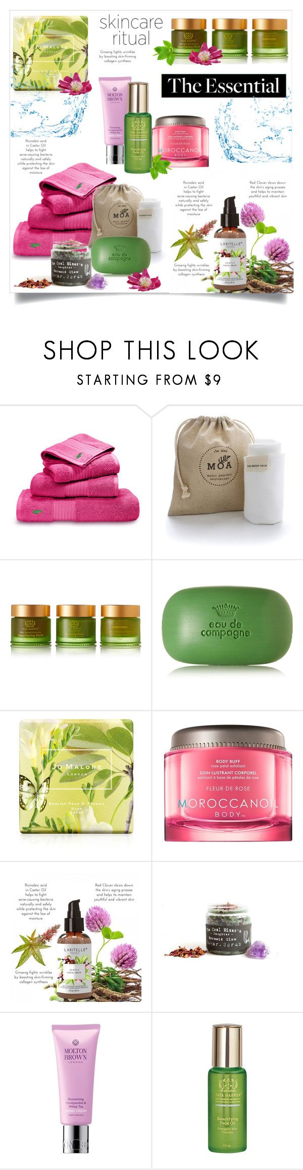 """""""Skincare"""" by ornellag ❤ liked on Polyvore featuring beauty, Ralph Lauren Home, MOA Magic Organic Apothecary, Tata Harper, Sisley, Jo Malone, Moroccanoil and Molton Brown"""