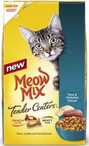 $1.00 off one bag Meow Mix Dry Cat Food Coupon