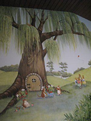 Willow Tree nursery mural | Yelp
