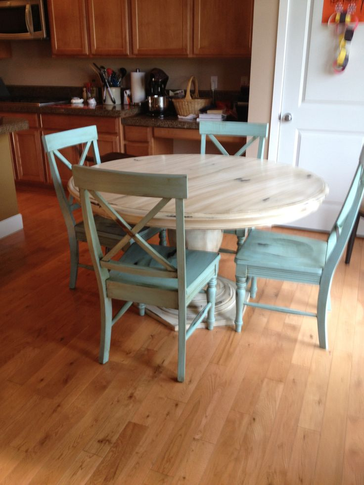 Final project - refurbished table and chairs