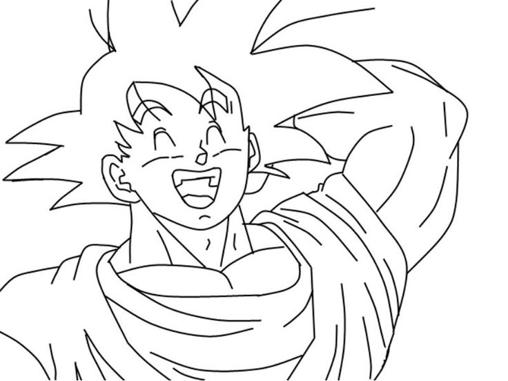 Goku Niño Para Colorear: 420 Best Imagen Para Colorear Images On Pinterest