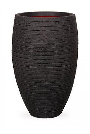 Capi Tutch Row Vaas elegant deluxe zwart