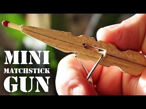 Mini pistolet avec une pince à linge