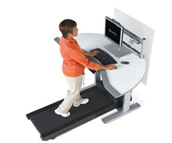 #TreadmillDesk, la nuova scrivania-tapis roulant nata per prevenire e ridurre i casi di #obesità legati alla #sedentarietà lavorativa http://www.fisiopoint.net/treadmilldesk/