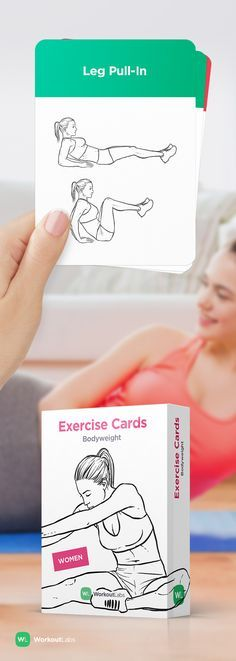 Work out anywhere anytime without equipment with these Exercise Cards –a must-have fitness accessory! http://wlshop.co