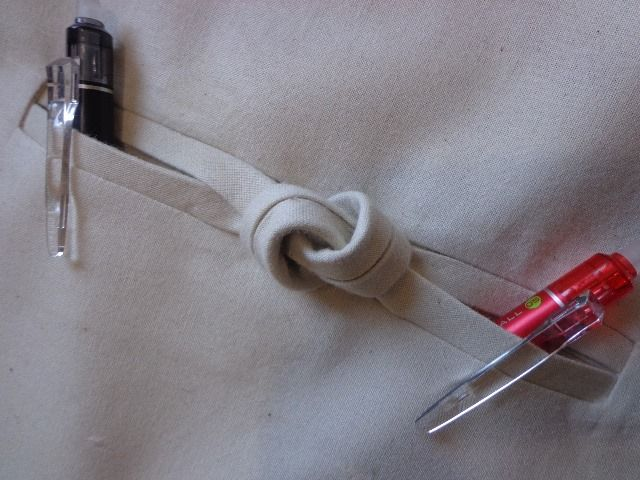 knotted pocket