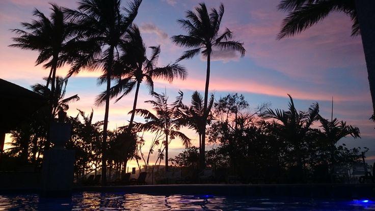 Sunset at Fitzroy Island Resort