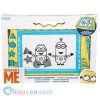 Minions groot magnetisch tekenbord -  Koppen.com