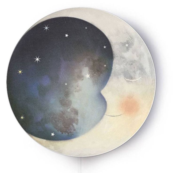 The moon is leaning backwards into her soft pillow. It was a long night!<br /> Now that the sun takes over, she can rest. The stars in the universe keep on twinkl...