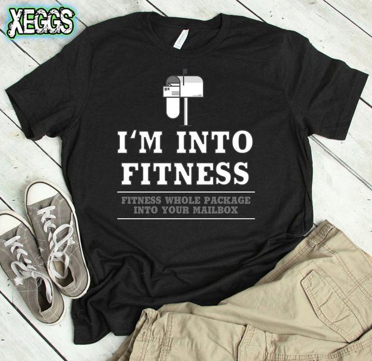 Im into fitness postal worker usps postal shirt rural