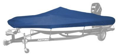 Bass Pro Shops Select Fit Hurricane Boat Covers for Pro Bass Boats with Outboard - Blue - 19'6'' to 20'5''