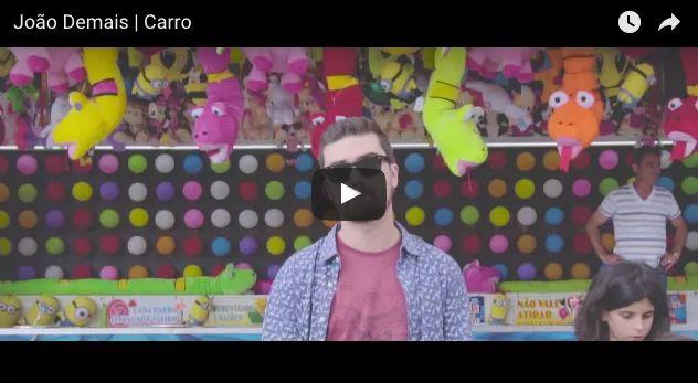 'Carro' es el nuevo tema del cantante portugués João Demais y lo ha presentado con este divertido videoclip grabado en las ferias de Braga y Coimbra.