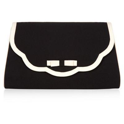 Jacques Vert Scallop Edge Bag- at Debenhams.com