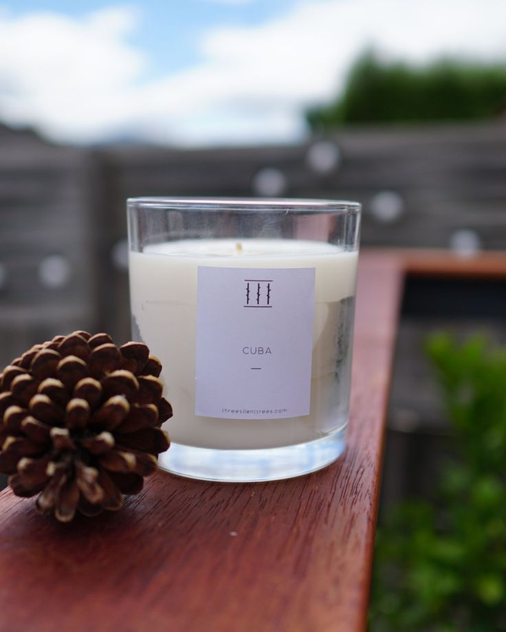 Three Silent Trees | Cuba soy candle | XL tumbler by ThreeSilentTrees on Etsy