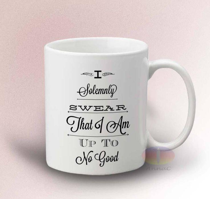 I Solemnly Swear Harry Potter Quote Mug - White 11oz Ceramic Mug