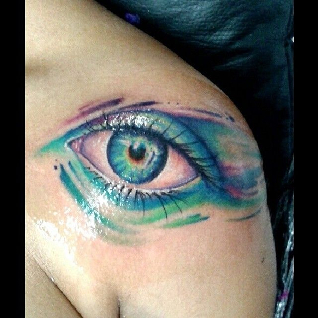 Tattoo Ideas Eyes: 9 Cute Eye Tattoos, More At Http://tattoo-swag.com/9