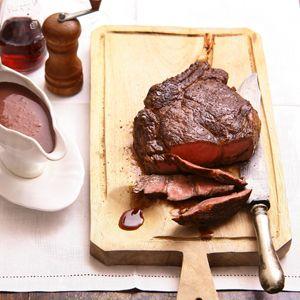 Recept - Côte de boeuf met rodewijnjus - Allerhande