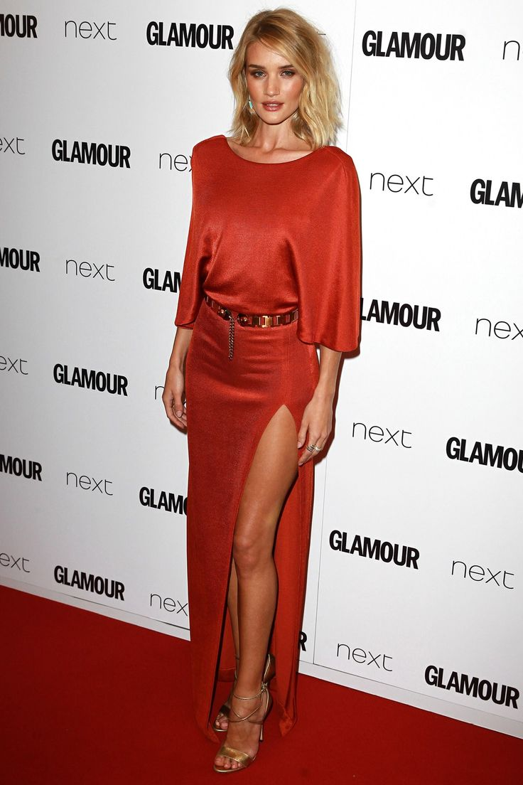 The model-turned-actress was the perfect guest for the Glamour Women of the Year Awards in London.