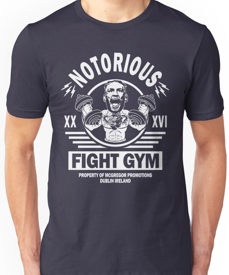 Conor Mcgregor Fight Gym Unisex T-Shirt