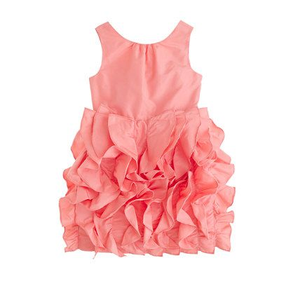 Such a cute flower girl dress from J crew.  And it's called 'Lyla' they just spelled it wrong :)