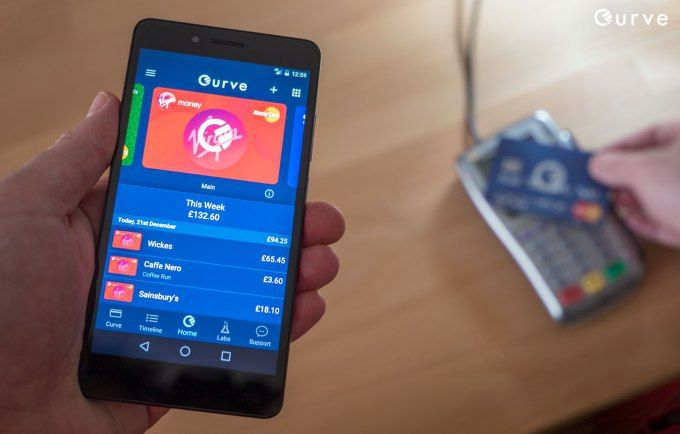 London fintech startup Curve brings mobile wallet and all-yo
