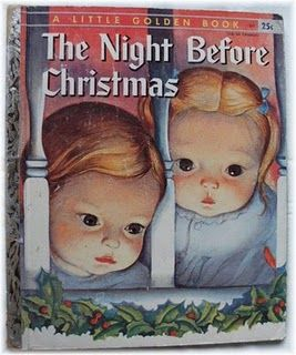 Eloise Wilkin - Little Golden book-The Night Before Christmas