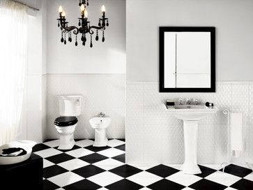 40 Best Images About Black And White Tiles On Pinterest