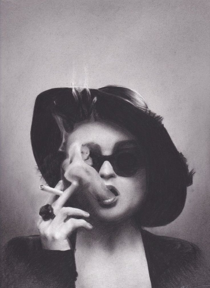 Marla Singer/Helena Bonham Carter by xabigal-eyesx on DeviantArt
