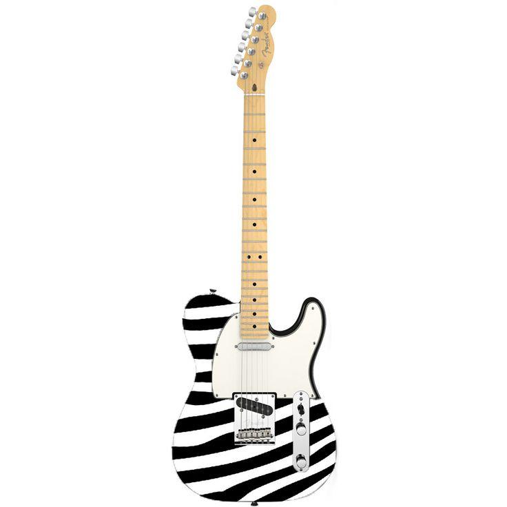 Guitar precut stickers for Fender Telecaster & Squier Telecaster