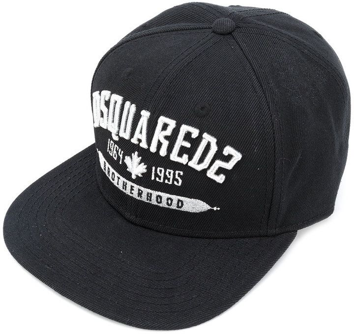 DSQUARED2 embroidered 'Brotherhood' cap