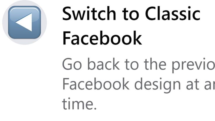 How To Get Back Facebook Classic Switch To Old Facebook Old Facebook Facebook Design Facebook Categories