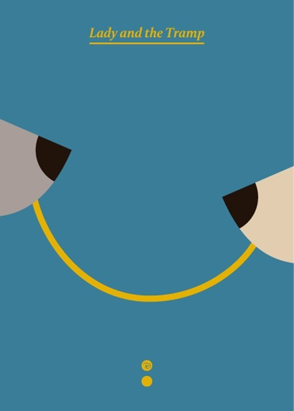 77 best the lady and the tramp 1 2 images on pinterest for Minimal art book