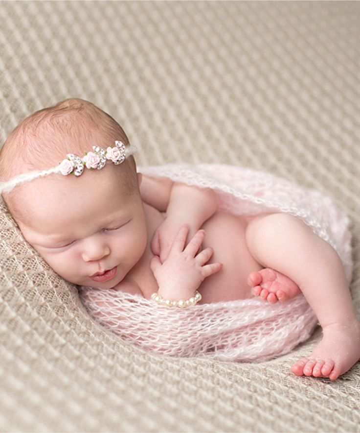 Love this The Tiny Blessings Boutique Pink Rhinestone Flower Tie-Back Headband & Mohair Wrap - Infant by The Tiny Blessings Boutique on #zulily! #zulilyfinds