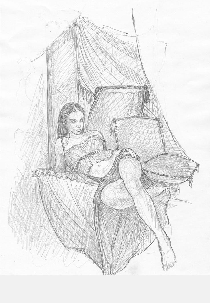 Inevera sketch by ~DominikBroniek on deviantART