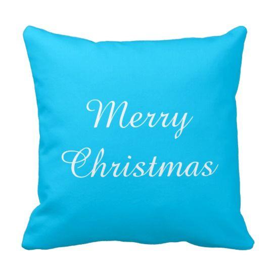 Merry Christmas Cushion Pillow
