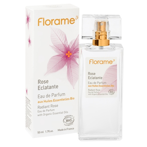 "FLORAME DOES NOT TEST ON ANIMALS :)   Eau de Parfum ""Radiant Rose"" 50ml - 1.7 fl.oz from Florame"