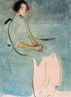 Helene Schjerfbeck, 12 Artists, 12 Days