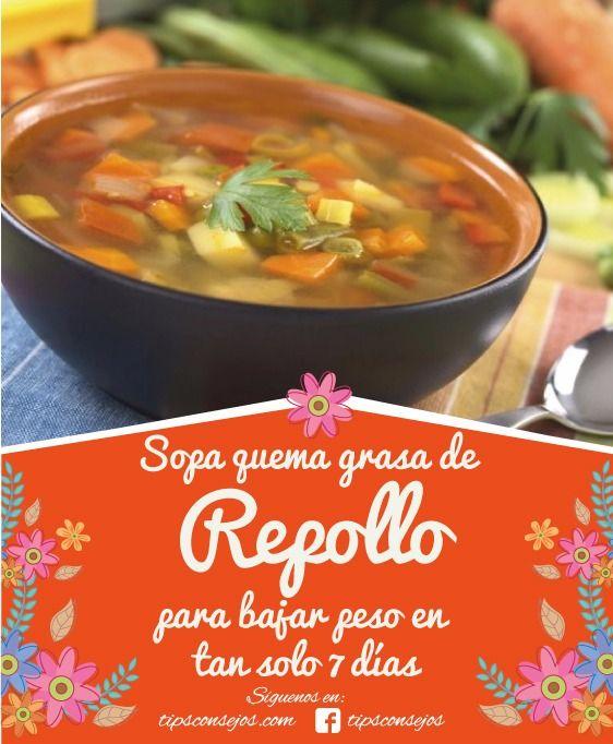 Sopa quema grasa de repollo con esta maravillosa sopa podrás perder peso en solo 1 semana, hacerla es muy fácil aquí te enseñare paso a paso a prepararla